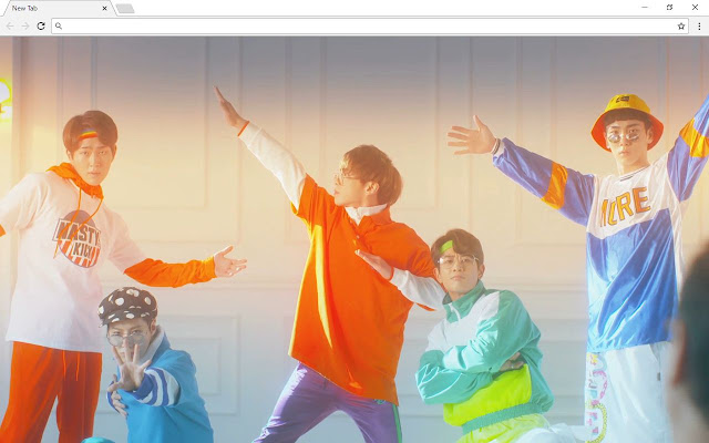 Wanna One New Tab Page
