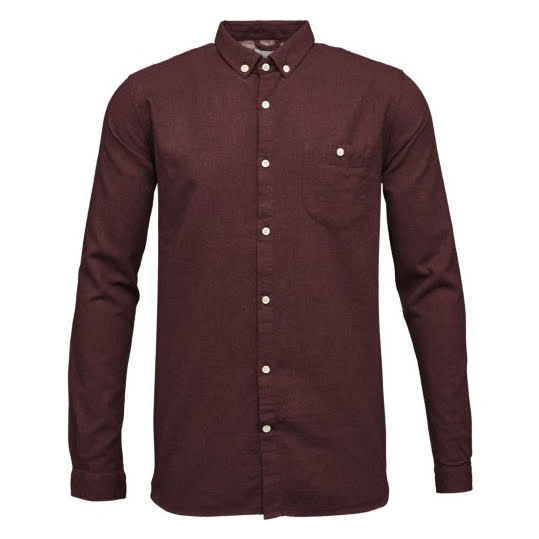 KNOWLEDGE COTTON APPAREL Flanell Shirt Strl S