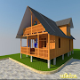 Wooden House Design APK icon