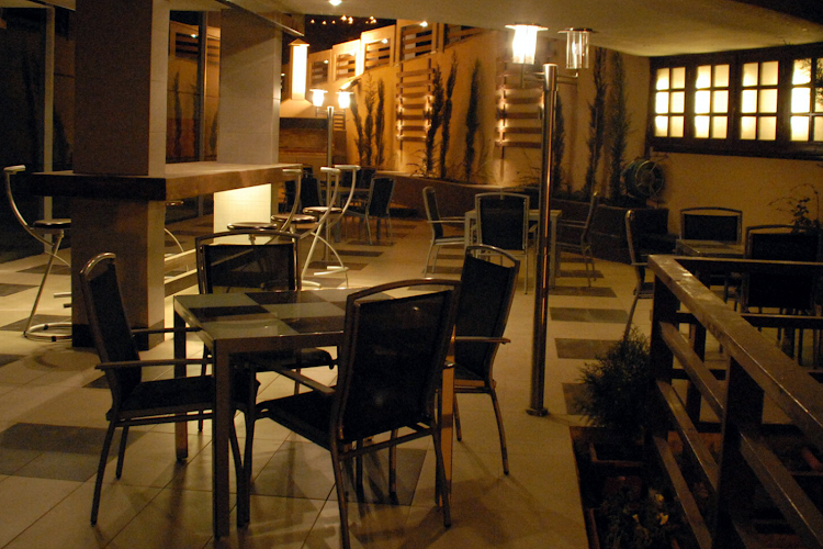 Restaurant at Abdoun apartment