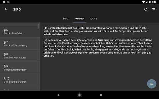 Lawdroid AT – Österreichische Gesetze und EU-Recht screenshot 17