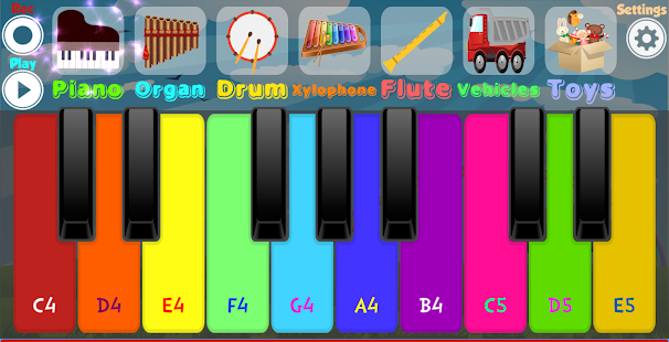Kids Piano - Apps on Google Play