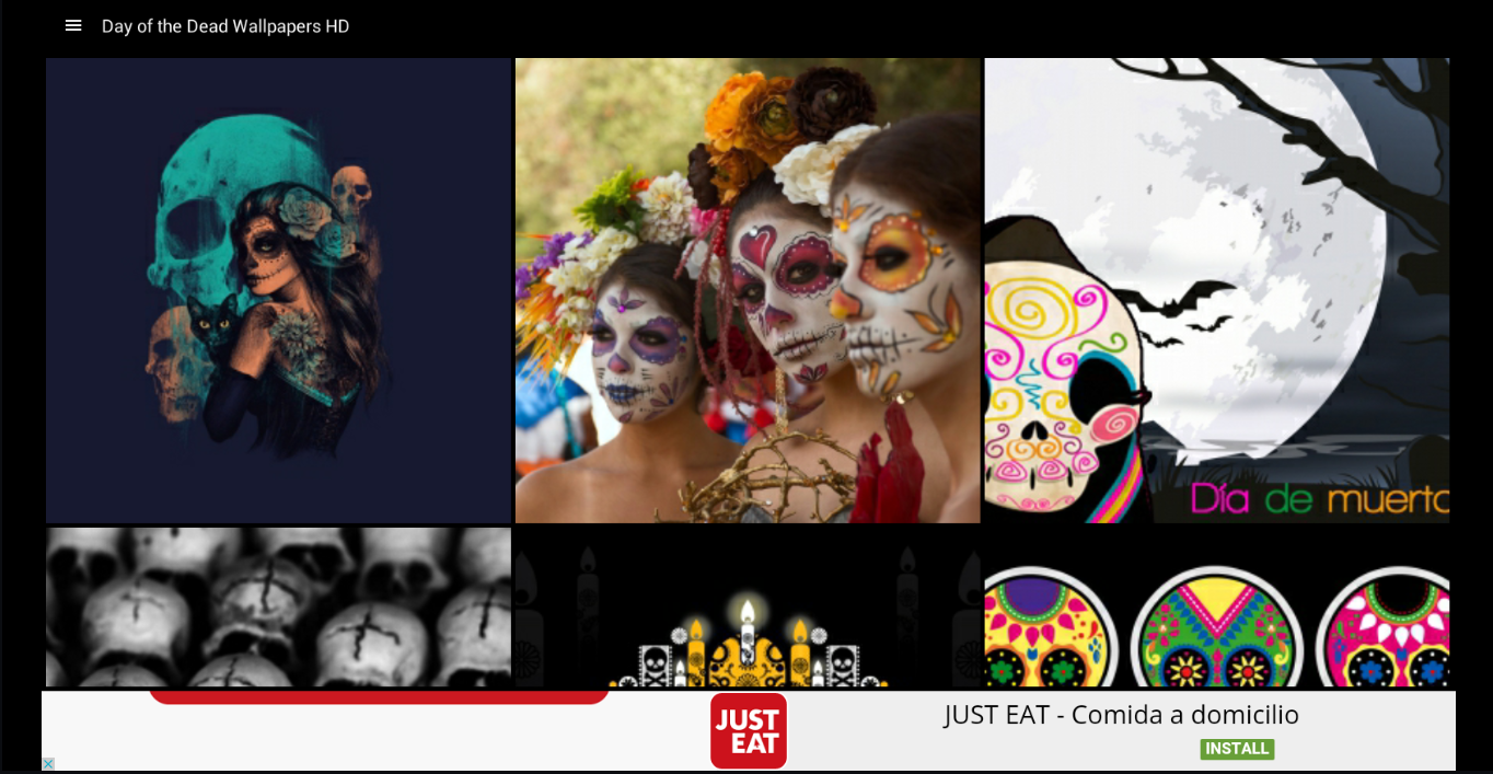 day of the dead wallpapers hd android apps on google play