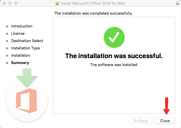 Install Successful