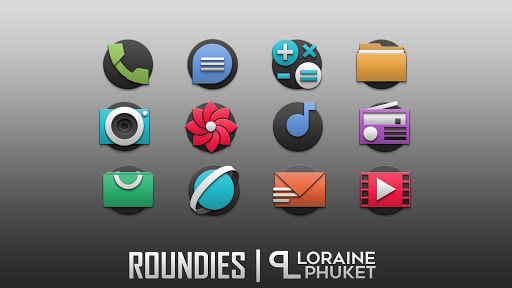 Download APK: Roundies icon pack – actual simple icons v1.0.1 [Patched]
