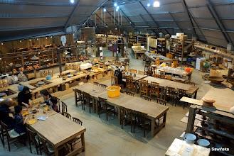 Photo: Pottery atelier at Ryukyu Maru