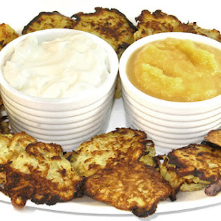 Skinny Mini Potato Pancakes Appetizer (Latkes)