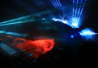 Photo: Лазерно шоу в пещера Леденика