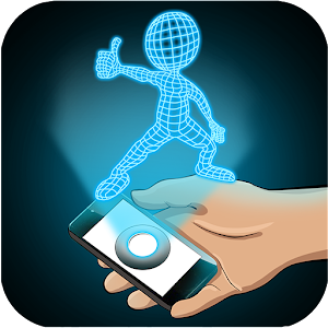 Hologram Stickman 3D Simulator for PC and MAC