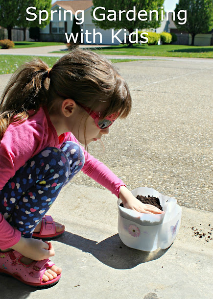 Spring Gardening with Kids: A DIY Upcycled Planter + Free Printable Plant Growth Tracker!