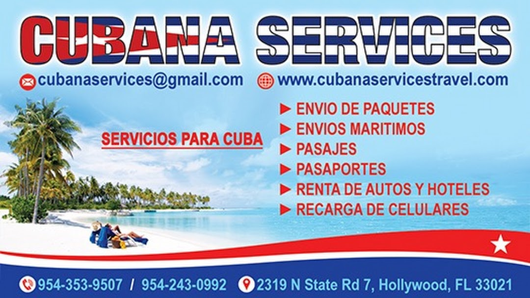 Cubana Services Inc - Travel Agency in Hollywood