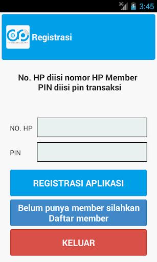 AppDistro e-Pulsa SMI 1.13 screenshots 3