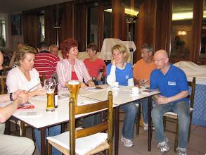 Photo: Ankunftsbesprechung - Gruppeneinteilung der Guide-Ausfahrten