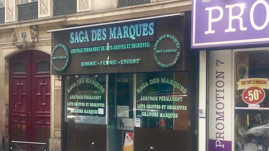 4553f2a6d3a Saga Des Marques - Magasin De Vêtements à Paris