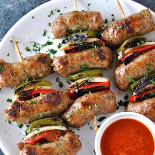 Italian Sausage & Pepper Spiedini Skewers