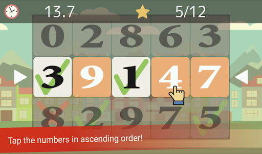 Tap the Numbers (Calculation, Brain training) 3.2.11 screenshots 1