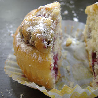 Orange Blackberry Muffins
