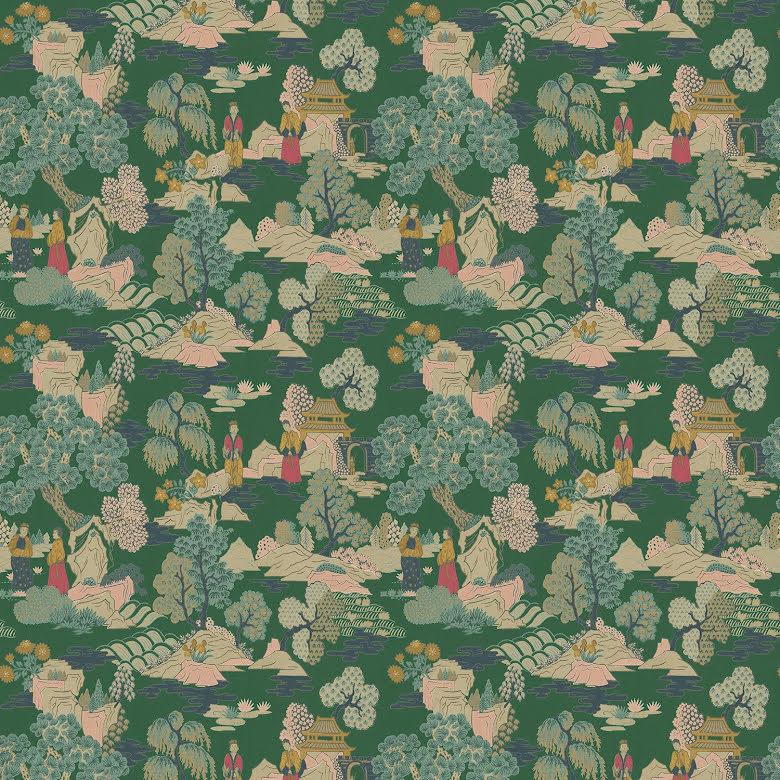 Japanese Garden av Linwood - jade