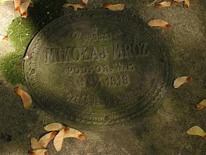 Photo: Nagrobek Podporucznika Mikołaja Mroza - kwatera na cmentarzu Św. Rozalii w Bochni
