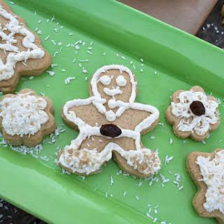 Naturally Sweetened, Whole Wheat, Sugar Cookies.