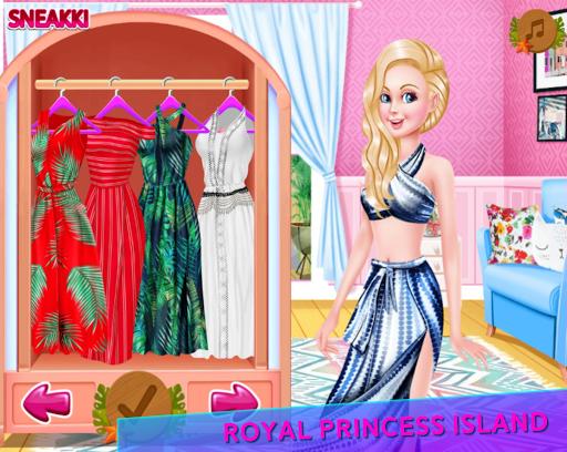 Télécharger Jeux de relooking Royal Princess Island APK MOD 2