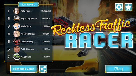 Reckless Traffic Racer Game 2019 2.0.1 [Mod + APK] Android 1