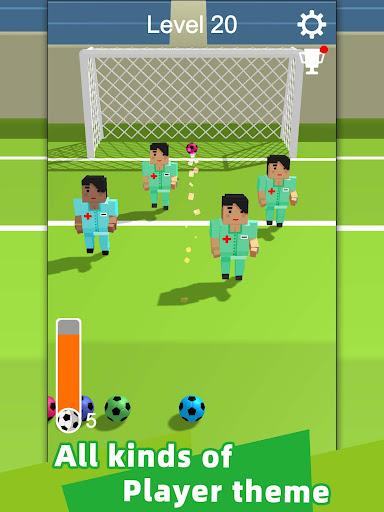 Straight Strike - 3D soccer shot game apkmr screenshots 8
