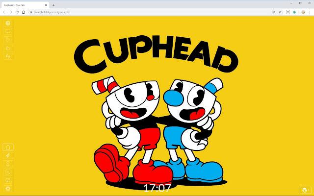 Cuphead HD Full HD New Tab