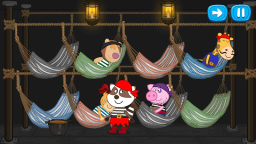 Pirate treasure: Fairy tales for Kids android2mod screenshots 6