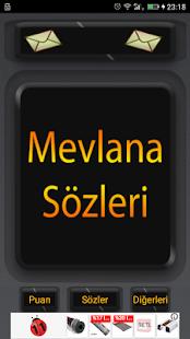 Mevlana Sözleri 2017 - náhled