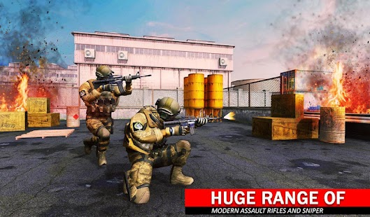 Counter Terrorist Shooting Critical Shoot Attack Screenshot