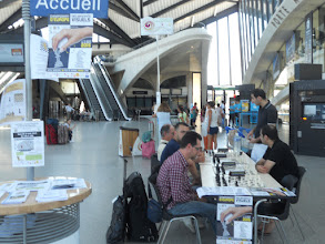 Photo: gare Saint-Exupéry 03 août
