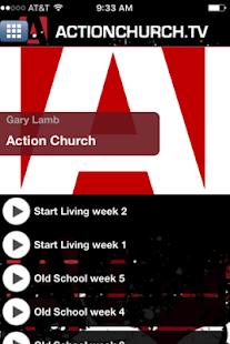 Action Church - náhled