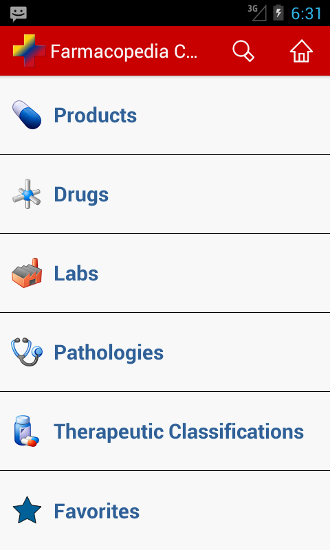 Farmacopedia Colombia- screenshot