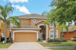 Private Orlando villa to rent, close to Disney, gated community, west-facing pool, games room