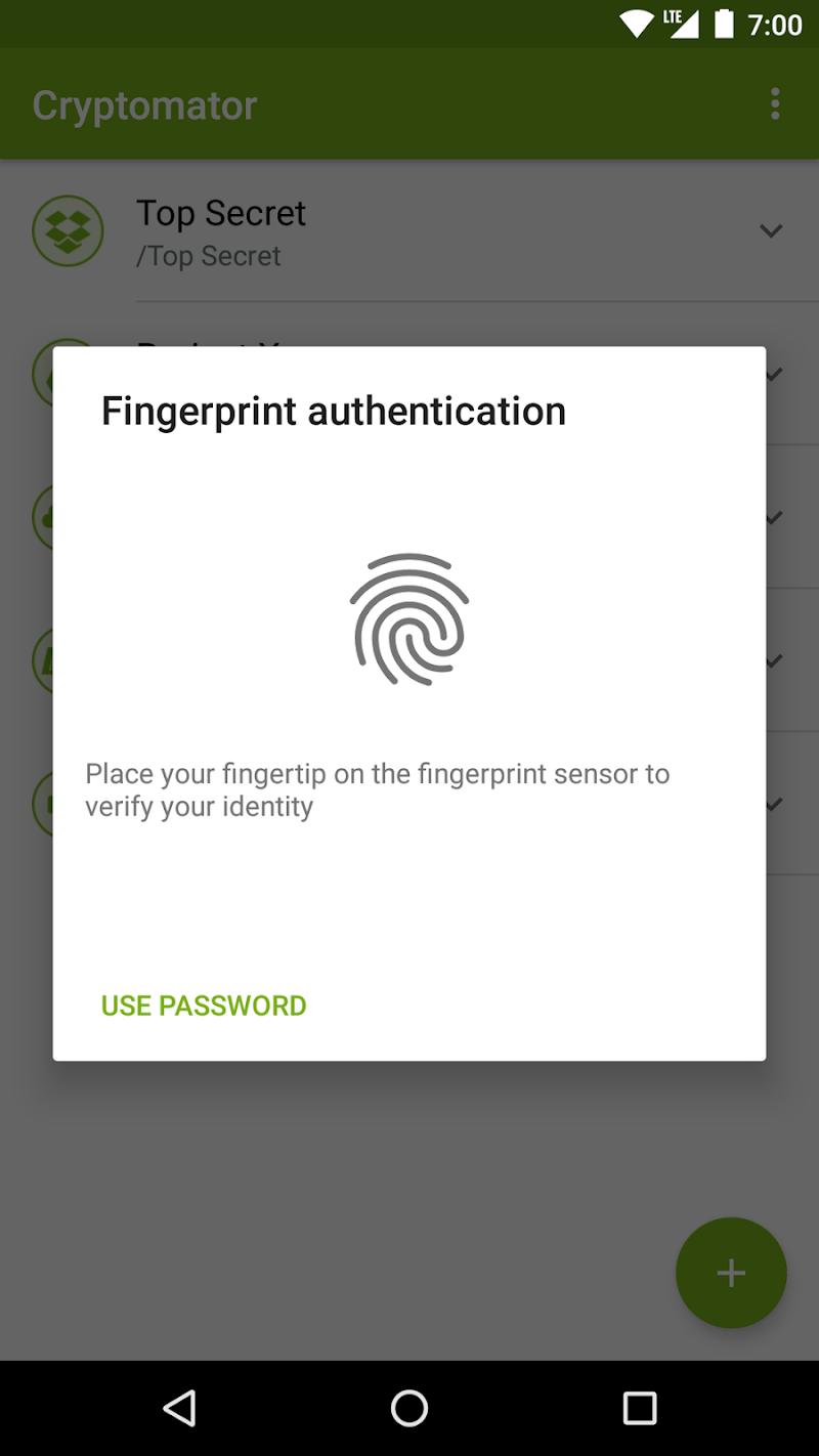 Cryptomator Screenshot 3