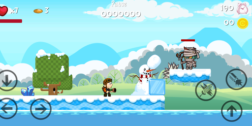 لقطات شاشة Super Adventure Run 4