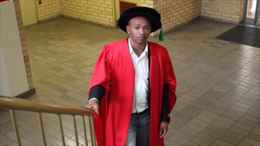 Lukhanyo Mekuto, the son of a domestic worker and a gardener, is the youngest student to be awarded a doctorate at Cape Peninsula University of Technology.