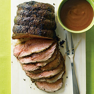 Roast Bison with Velvety Pan Gravy