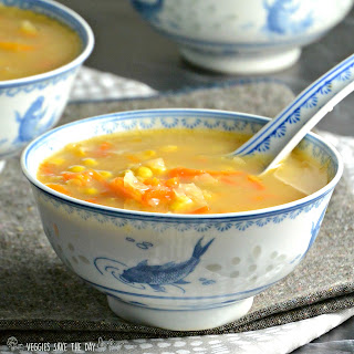 Indo-Chinese Corn Soup (Instant Pot) Recipe