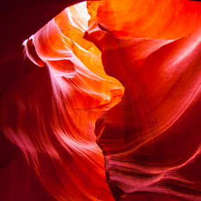 Red Cave by Narayna Gopi - Nature Up Close Rock & Stone ( page, cave )