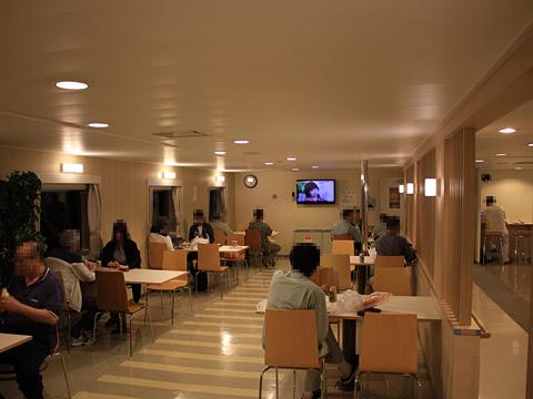 川崎近海汽船「シルバープリンセス」 4デッキ オートレストラン その1