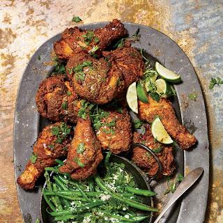 Fried Tandoori Chicken.