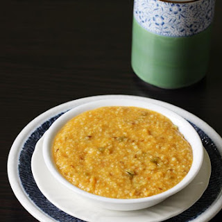 Dalia Khichdi Recipe | Broken Wheat Khichdi (includes Baby Recipe)