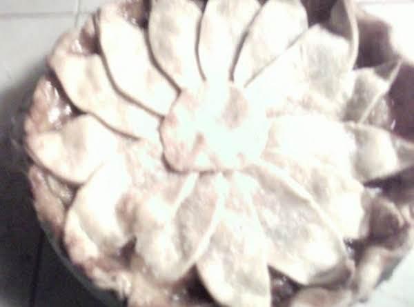 Sunflower Apple Pie