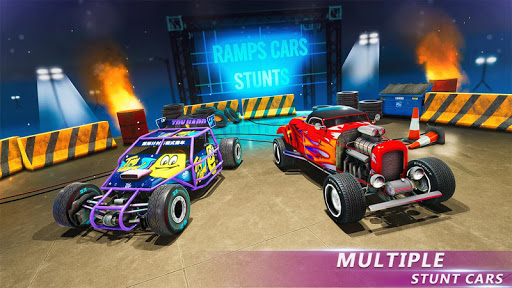 Ramp Stunt Car Racing Games: Car Stunt Games 2019  screenshots 12