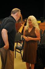 Photo: Don Kentop and Denise Calvetti Michaels.