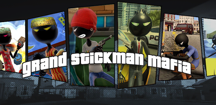 Grand StickMan Vegas Mafia Crime Fight To Survive