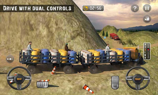 USA Truck Driving School: Off-road Transport Games 1.10 screenshots 3