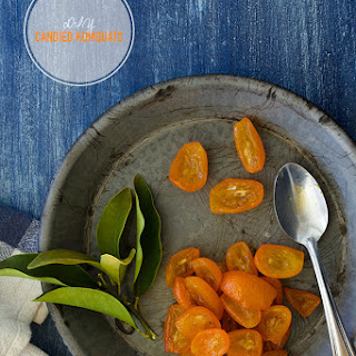 DIY Candied Kumquats